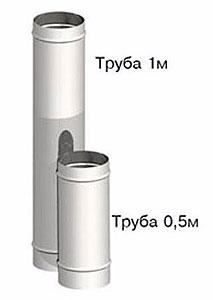 Труба 1 м и 0,5 м